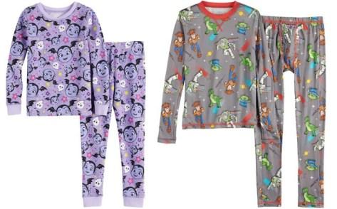 Disney Cuddl Duds Kids' Thermal Pajamas Starting at JUST $10 (Reg $26) + FREE Pickup