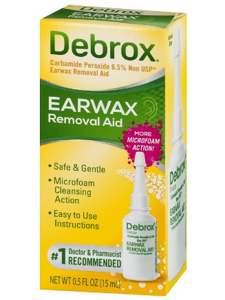 AMAZON: Debrox Drops Earwax Removal Aid -- 0.5 fl oz