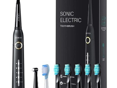 Amazon: Sonic Electric Toothbrush with 8 Dupont Brush Heads $15.50 (Reg. $23.99)