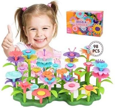 AMAZON: Flower Garden Building Toys – 50% OFF!!!