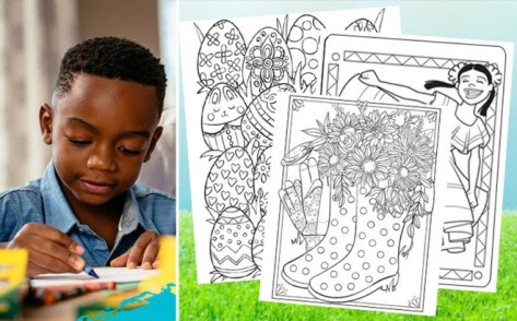 FREE Crayola Coloring Pages & Lesson Plans