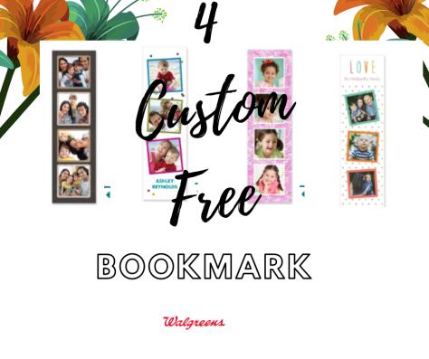 Walgreens: 4 FREE Custom Bookmarks (In-Store Pickup)