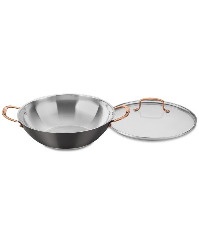 MACY'S: Onyx Black & Rose Gold All-Purpose Pan & Lid $19.99 (Reg $79.99)