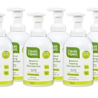 AMAZON: CleanWell Botanical Foaming Hand Sanitizer (Pack of 6) – HOT DEAL!!!