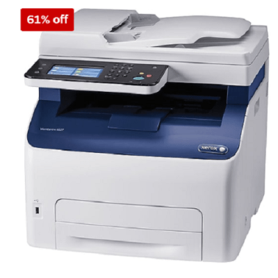 STAPLES: Xerox WorkCentre Color Laser All-In-One Printer 139.99 Shipped! (Reg. $430)