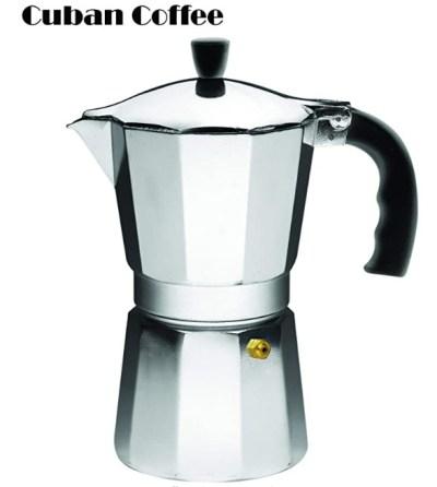 AMAZON: Aluminum Espresso Stovetop Espresso Maker 6-cup, Just $6.25 (Reg $14.57)