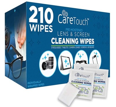 AMAZON: Care Touch Lens Cleaning Wipes, LIMITED STOCK ONLY!!