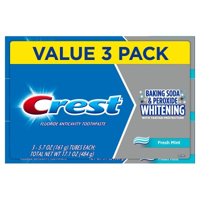 AMAZON: Roll over image to zoom in Crest Cavity & Tartar Protection Toothpaste, AS LOW AS $3.35