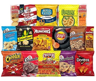AMAZON: Frito-Lay Ultimate Snack Care Package, Variety Assortment of Chips, Cookies, Crackers & More, 40 Count, IN STOCK!!!