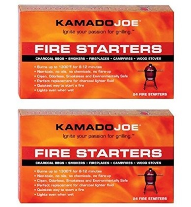 WOOT: Kamado Joe Fire Starters - 24 Count - 2 Pack, $13.99 (Reg $21.00)