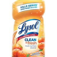 AMAZON: Lysol Clean & Fresh Multi-Surface Cleaner, Tangerine & Mango, 40oz, LIMITED STOCK