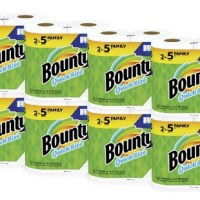 AMAZON: Bounty Quick-Size Paper Towels, 16 Family Rolls, White