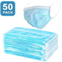 AMAZON: 3-Ply Disposable Face Mask (50 Count) $15.39 ($70)