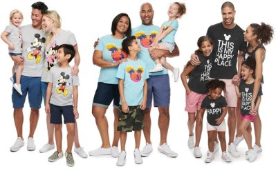 KOHL'S: Disney Matching Tees For The Family Starting at ONLY $5.99 (Reg. $14)