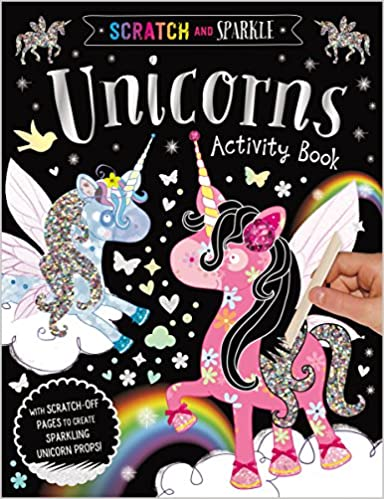 AMAZON: Scratch and Sparkle Unicorn Activity Book Only $3.23 (Reg $6.99)