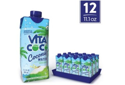 AMAZON: Vita Coco Coconut Water, Natural Hydrating Electrolyte Drink (12 Packs) $13.3