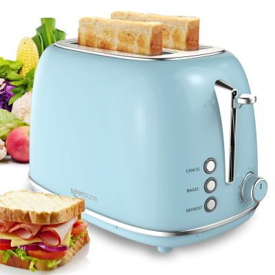 WALMART: 2 Slice Toaster with Bagel, Cancel, Defrost Function and 6 Bread Shade Settings, JUST $37.99 (REG $136.76)