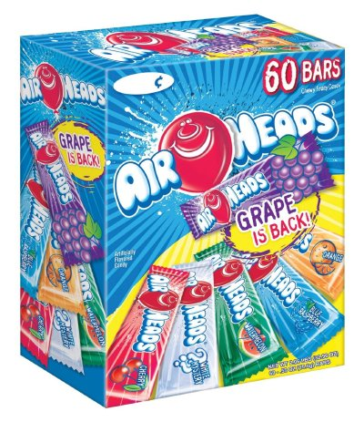 AMAZON: 60-Pack of Airheads Bars for $7.98