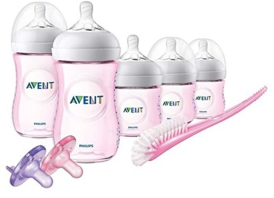 AMAZON: Philips Avent Natural Pink Infant Starter Set For $26.99 (Was $55) + FREE Shipping