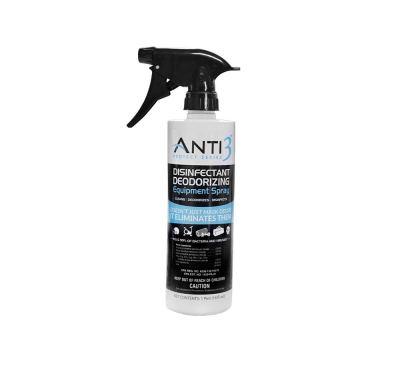 AMAZON: Anti3 Protect Series Disinfectant Equipment Deodorizing Spray, 16 oz