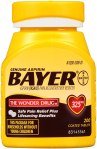 AMAZON: Genuine Bayer Aspirin 325mg Coated Tablets, Pain Reliever and Fever Reducer, 200 Count – PRICE DROP!