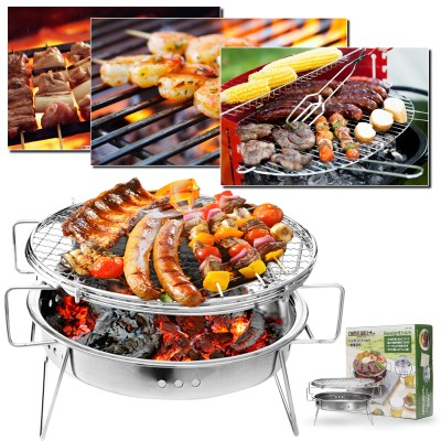 WALMART: Portable Lightweight Barbecue Grill Tools for Tailgating $24.97 ($49.94)