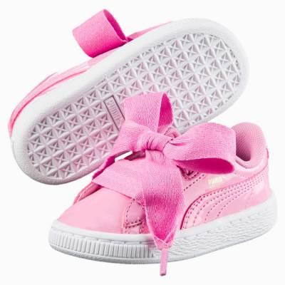 PUMA: Basket Heart Patent Little Kids' Shoes $19.59 (Reg $60.00)