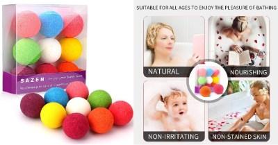 AMAZON: Bath Bombs Gift Set 9 packs,Moisturizing w/ Vegan Natural Essential Oils $7.99 ($16)