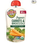 AMAZON: Earth's Best Organic Stage 2 Baby Food, Carrots and Broccoli, 3.5 oz. Pouch (Pack of 12) ONLY $1.18