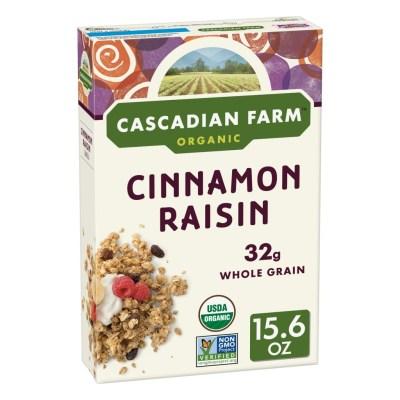WALMART: Cascadian Farm, Granola, Organic, Cinnamon Raisin For $2.78