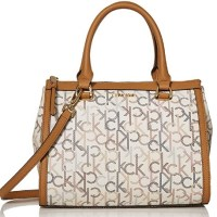 AMAZON: Calvin Klein Janae Signature Organizational Satchel – PRICE DROP!