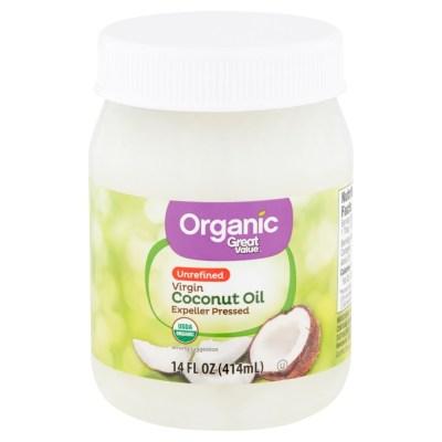 WALMART: Great Value Organic Unrefined Virgin Coconut Oil For $4.62 + Store Pickup