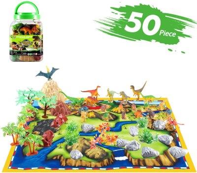 AMAZON: 50 Piece Dinosaur Toy Set for $7.05 Shipped! (Reg.Price $9.99)