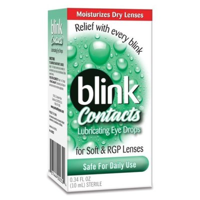 WALGREENS: Blink Contacts Eye Drops ONLY $3.79 At (Reg $8) + Store Pickup