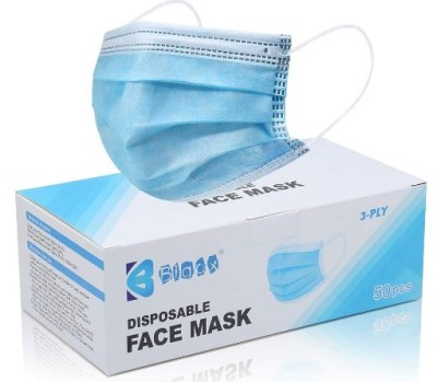 AMAZON: Bigox Face Mask Disposable Earloop Blue 50Pcs – TO SAVE USE CODE XCN4E2MD
