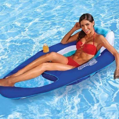 WALMART: SwimWays Spring Float Recliner - Swim Lounger $67.99 (REG. $87.99)