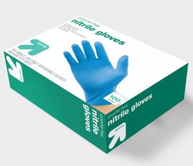 TARGET: Up&Up Nitrile Disposable Exam Gloves – 100ct For ONLY $7.99!