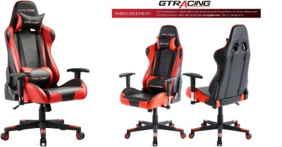 AMAZON: GTRACING Gaming Chair Racing Office Computer Game Chair Ergonomic Backrest $134.5 ($170) Shipped