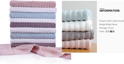 AMAZON: Hand Towel 10 Pack for Bathroom, 30 x 16 Inches Luxury Textured Plush $9.99- $13.8 ($26.7)