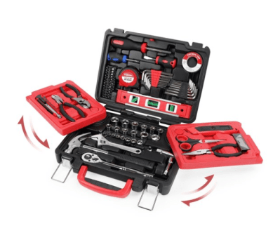 WALMART: Hyper Tough 102-Piece All Purpose Tool Set Model 7002 for $38.57 + Free Shipping! (Reg. Price $57.86)