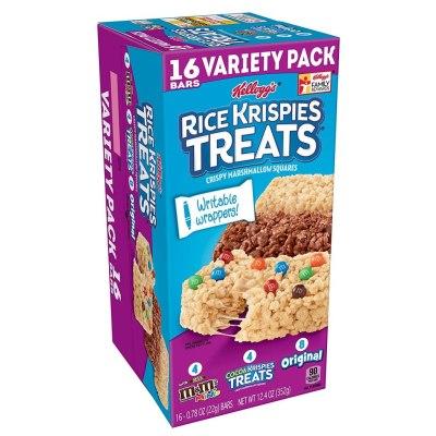 AMAZON: Kellogg's Rice Krispies Treats Original Marshmallow Bars $3.83 (Reg. $5.49)