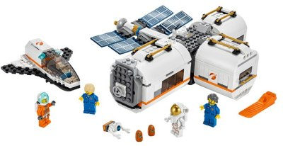 WALMART: LEGO City Lunar Space Station Building Set ONLY $48 + FREE Shipping (Reg $60)