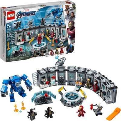 WALMART: LEGO Marvel Avengers Iron Man Hall Of Armor For $47.99 (Was $60) + Free Shipping