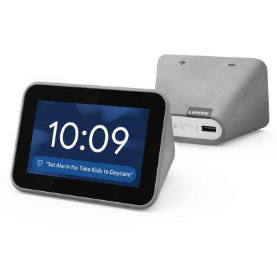 BEST BUY: Lenovo Smart Clock With Google Assistant For $39.99 (Was$79.99)+2 Free Items + Free Shipping