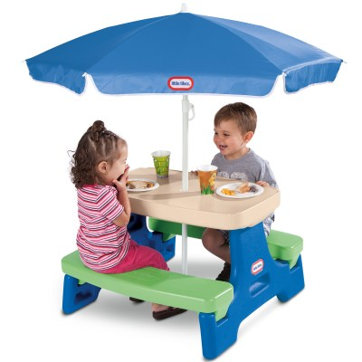 WALMART: Little Tikes Easy Store Jr. Play Table with Umbrella, JUST $49.97 (REG $69.99)