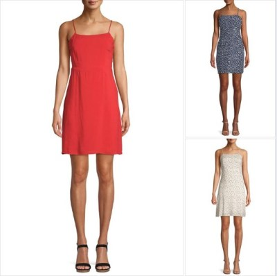 WALMART: Love Sadie Women's Cami Mini Dress, $6.99 (Reg $22.98)