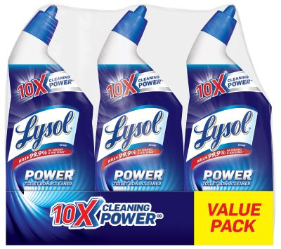 AMAZON: Lysol Power Toilet Bowl Cleaner, 72oz, Fights Toilet Rings & Stains