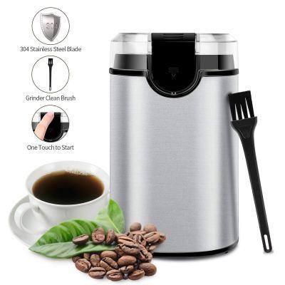 WALMART: Morpiot Stainless Steel Blades Grinder for Coffee Bean Seed, $25.99 (REG $96.16)