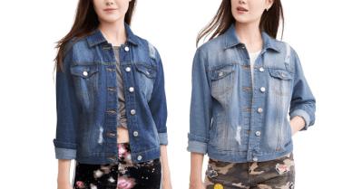 WALMART: New Look Juniors' Distressed Denim Jackets Only $7.50! (Reg. $15)