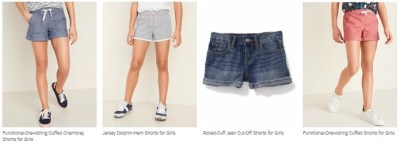 OLD NAVY: Tees & Shorts for the Family Up to 65% Off – Starting at JUST $3!
